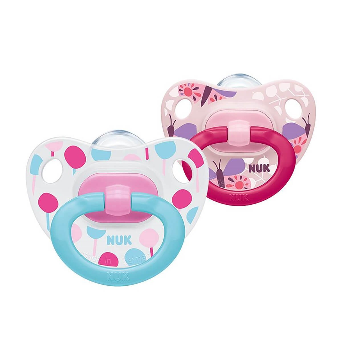 NUK Classic Happy Days Silicone Soother (0-6m)