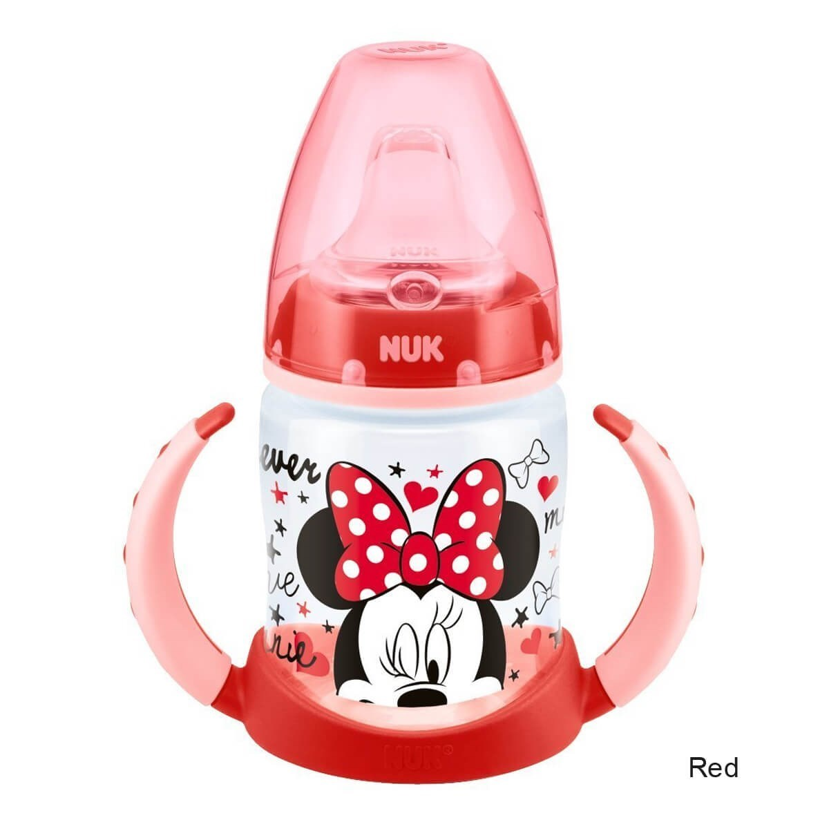 NUK Mickey & Minnie First Choice Learner Bottle 6-18m 150ml