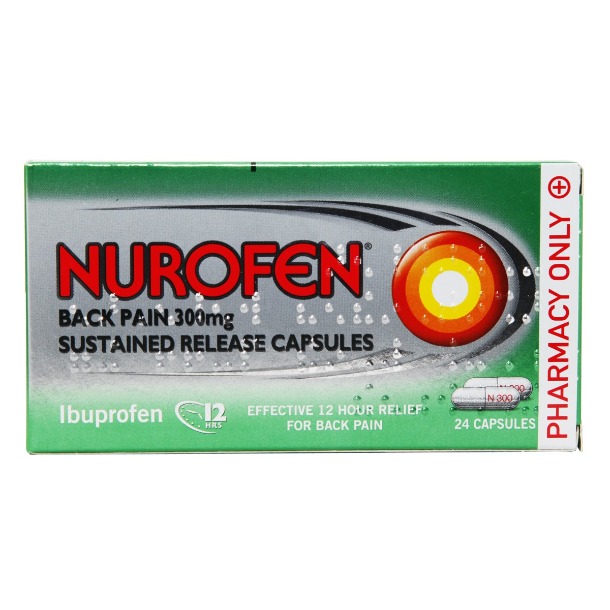 Nurofen Back Pain 300mg SR Capsules
