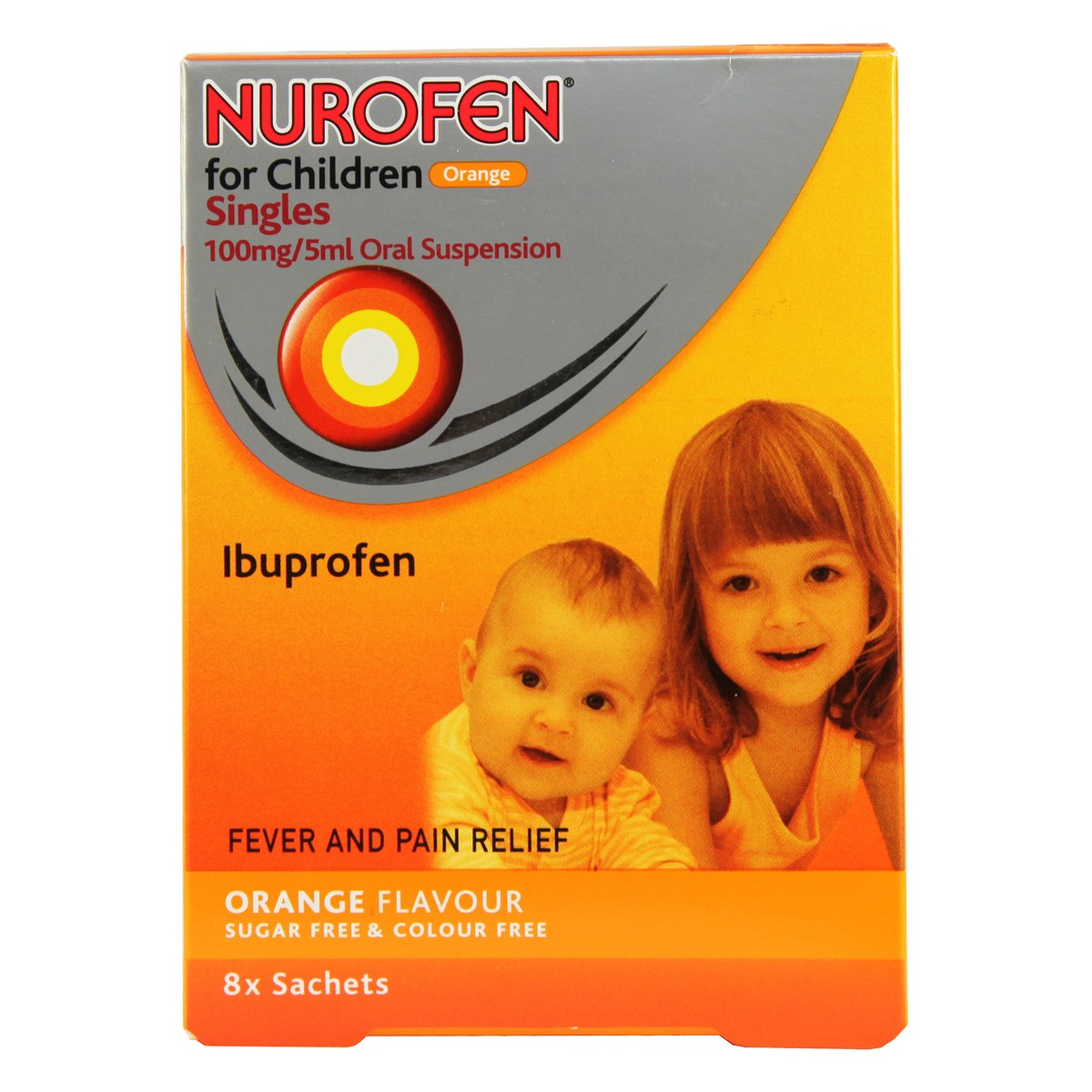 Nurofen For Children Orange Oral Suspension Sachets