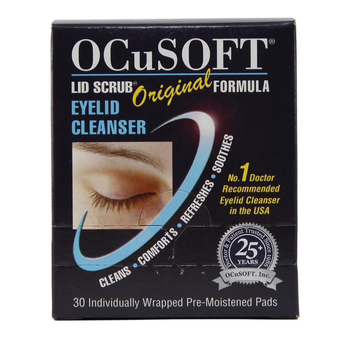 OcuSoft Lid Scrub Original Formula Eyelid Cleanser Pads