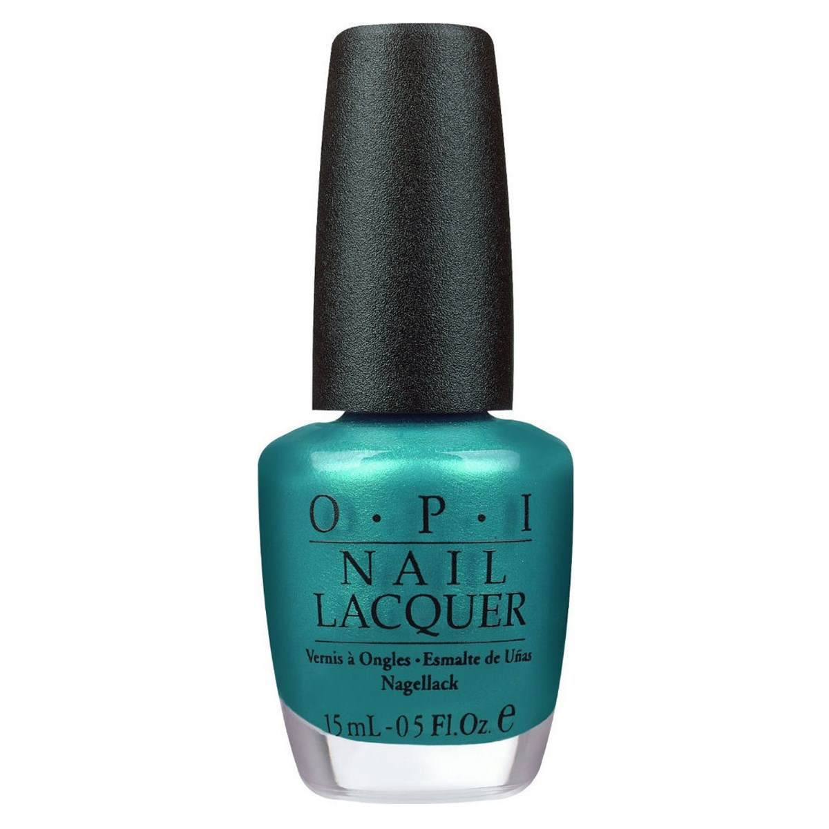 OPI Classic Nail Lacquer Teal the Cows Come Home