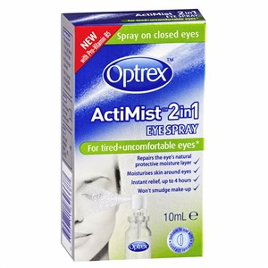 Optrex ActiMist 2in1 Eye Spray - Tired & Uncomfortable Eyes