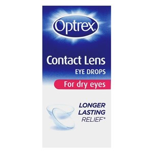 Optrex Contact Lens Eye Drops for Dry Eyes