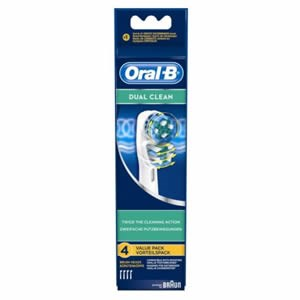 Oral-B Dual Clean Replacement Brush Heads