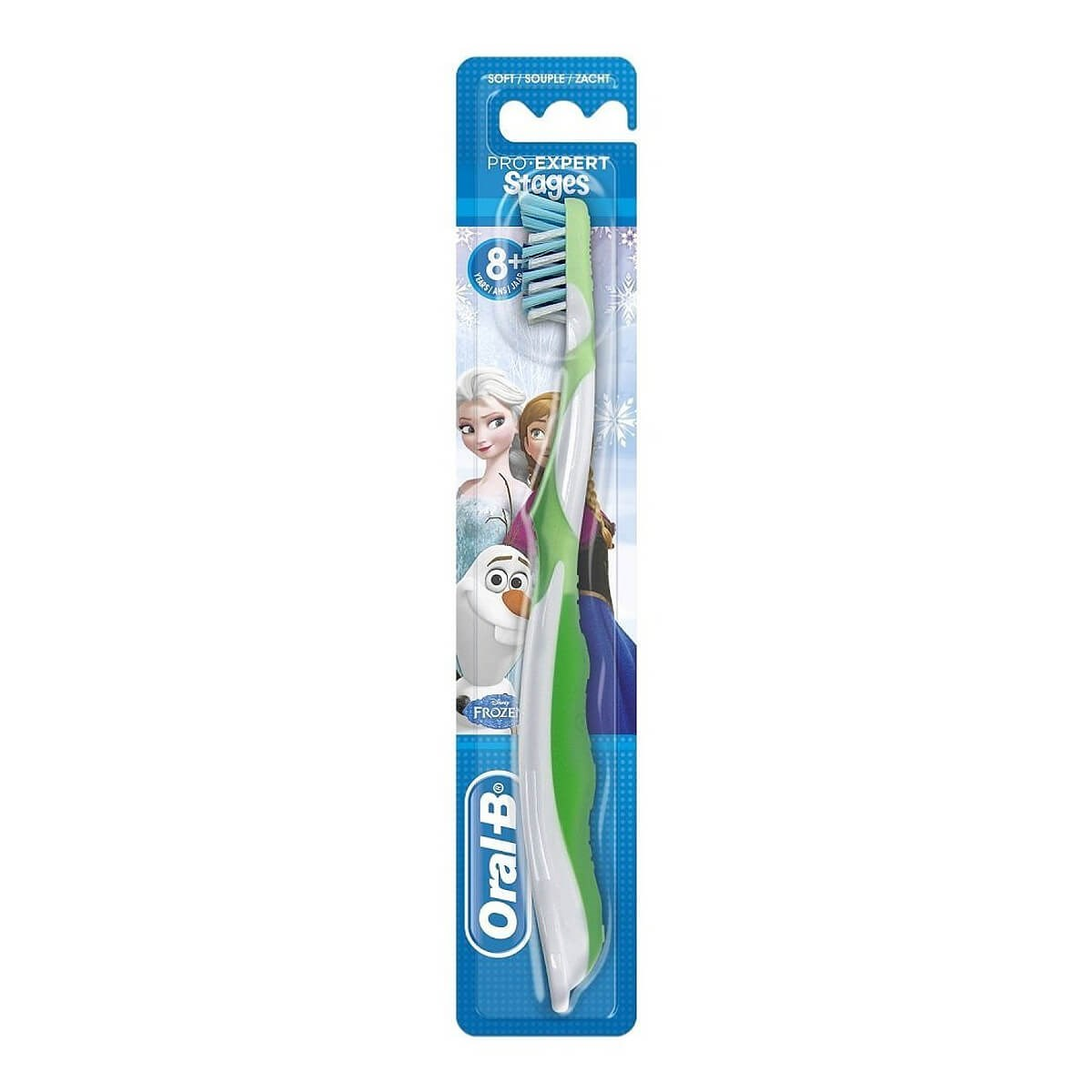 Oral-B Pro-Expert Stages Cross Action Kids Manual Toothbrush 8+-Soft