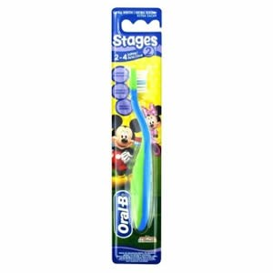 Oral-B Stages Kids Manual Toothbrush - Stage 2 - Mickey Mouse