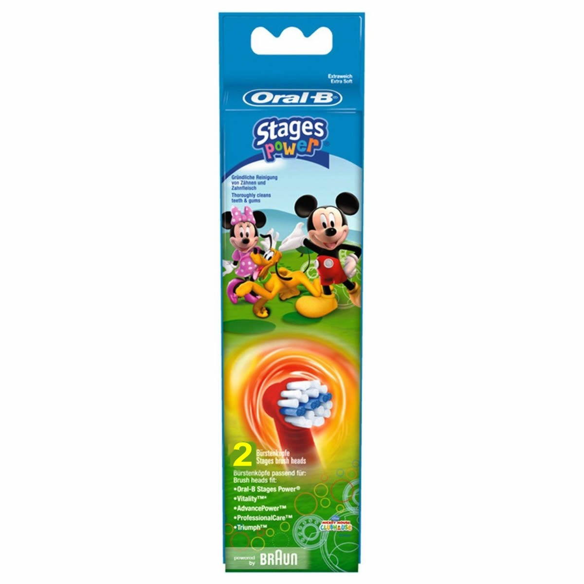 Oral-B Stages Power Kids Electric Toothbrush Replacement Heads