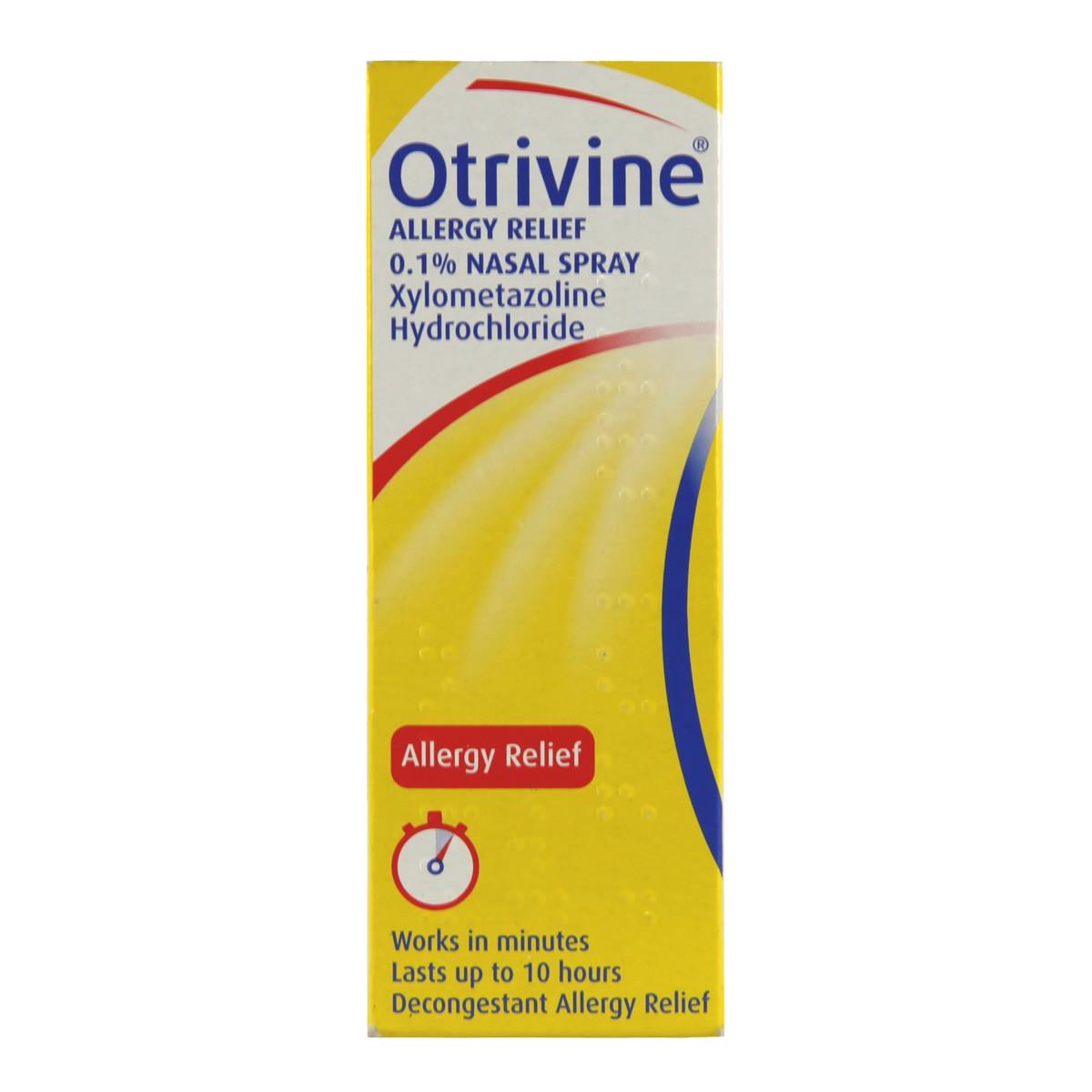 Otrivine Allergy Relief 0.1% Nasal Spray