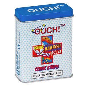 Ouch! Deluxe First Aid Comic Strips Plasters