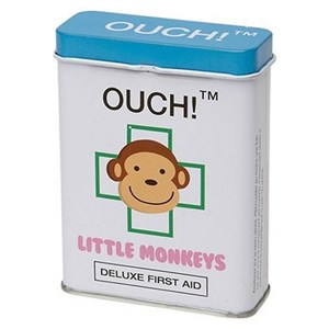 Ouch! Deluxe First Aid Little Monkey Plasters