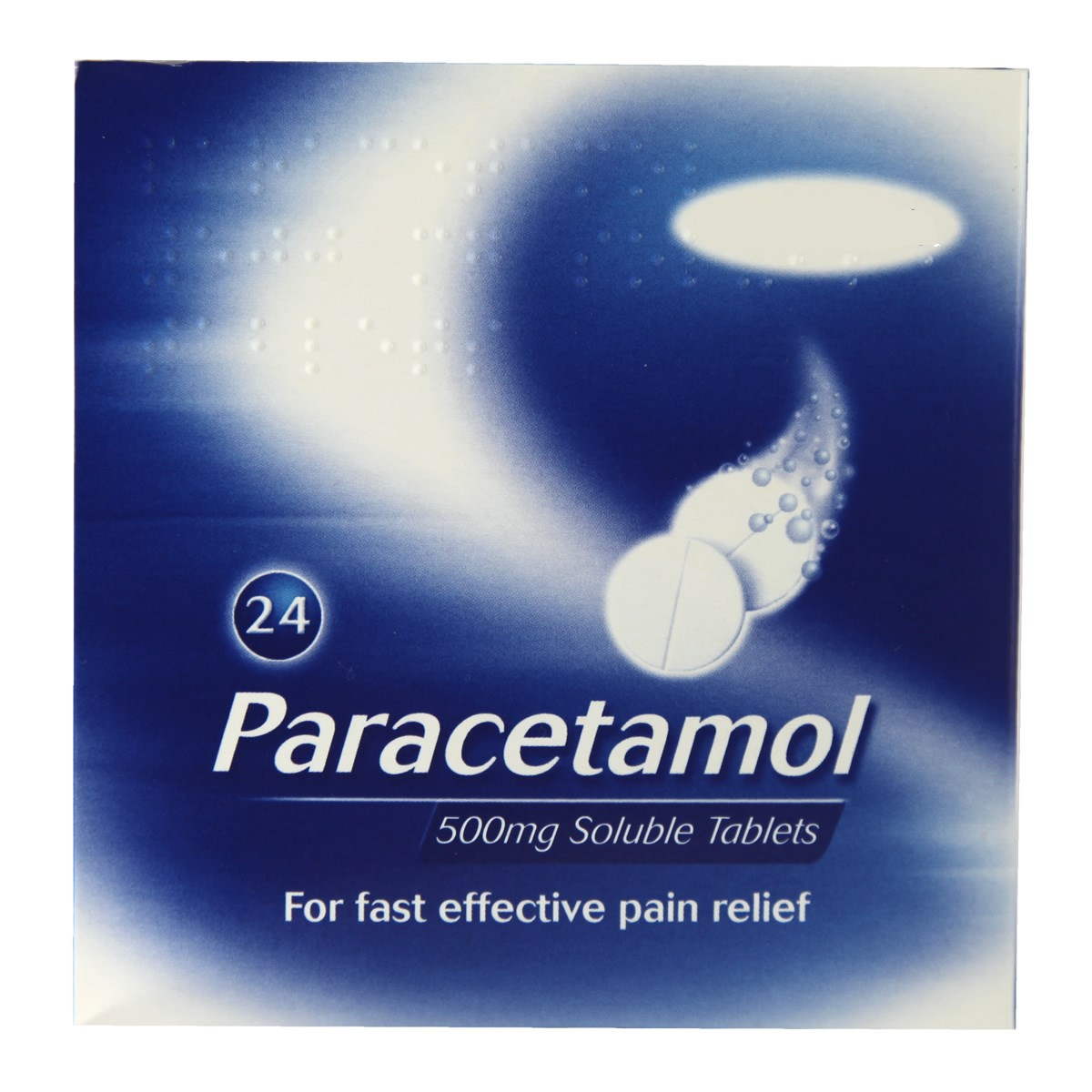 Paracetamol 500mg Soluble Tablets