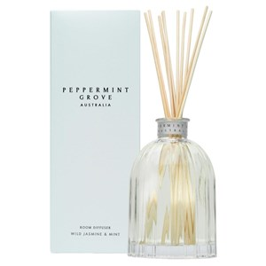 Peppermint Grove Australia Room Diffuser - Wild Jasmine & Mint