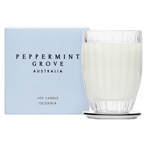 Peppermint Grove Australia Small Soy Candle - Oceania
