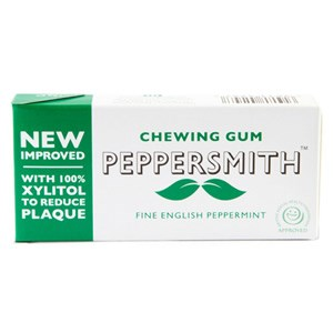 Peppersmith Fine English Peppermint Xylitol Chewing Gum