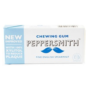 Peppersmith Fine English Spearmint Xylitol Chewing Gum