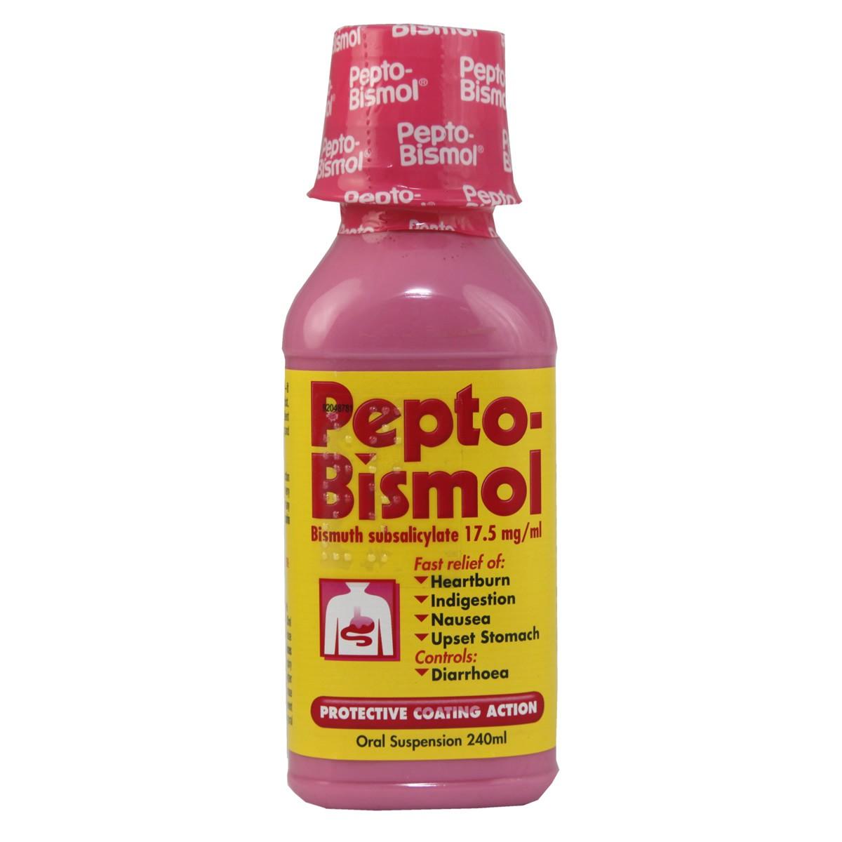 Pepto-Bismol Liquid Suspension
