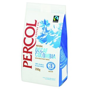 Percol Decaf Colombia Ground Coffee