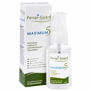 Perspi-Guard Maximum5 Maximum Strength  Antiperspirant Treatment