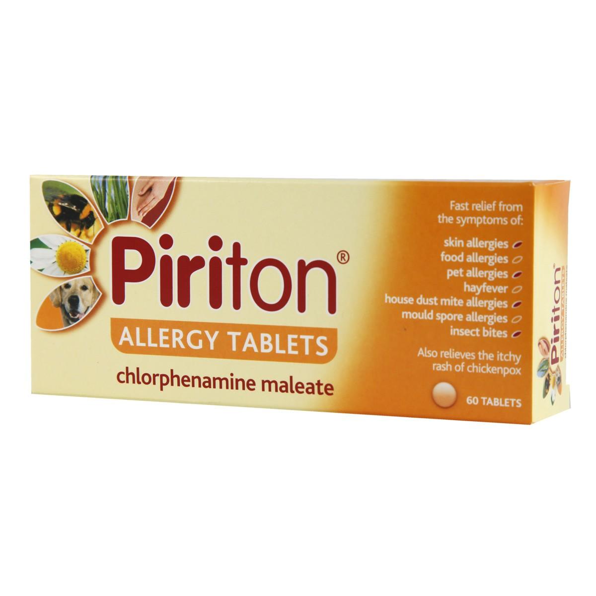 Piriton Allergy Tablets