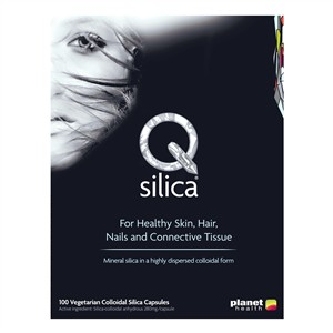 Planet Health Q Silica for Healthy Skin, Hair, Nails and Connective Tissue