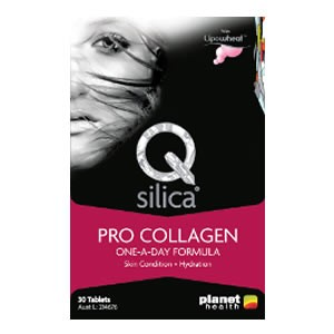 Planet Health Q Silica Pro Collagen One-A-Day Formula