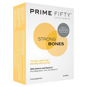 Prime Fifty Strong Bones Tablets