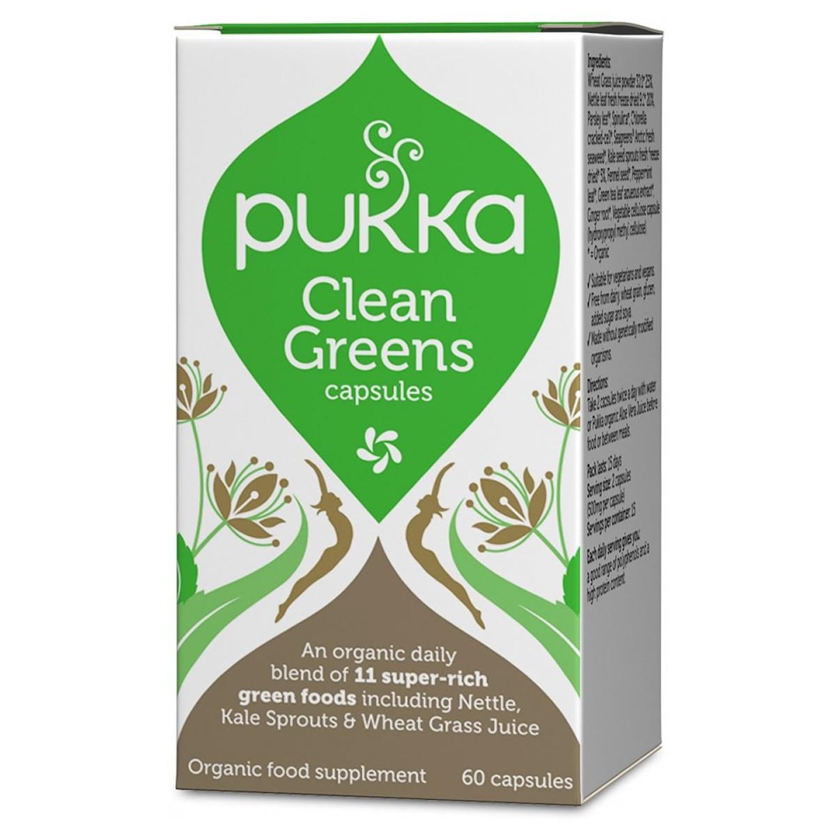 Pukka Clean Greens Capsules