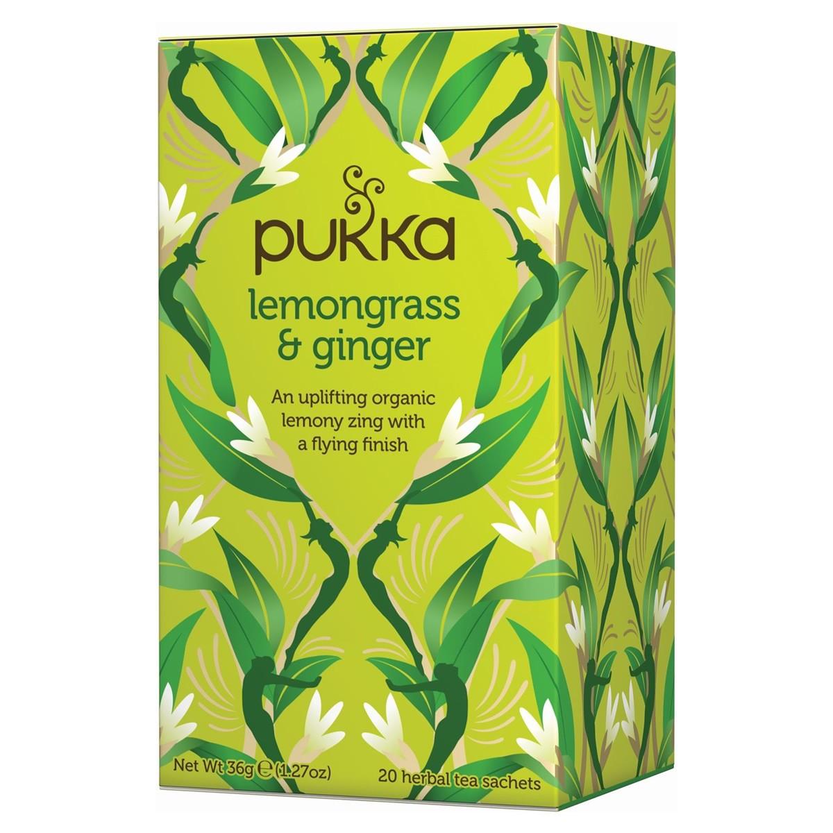 Pukka Lemongrass  & Ginger Tea