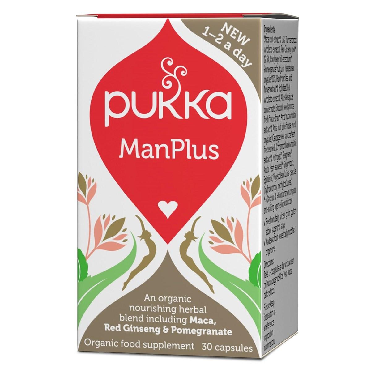 Pukka ManPlus Capsules