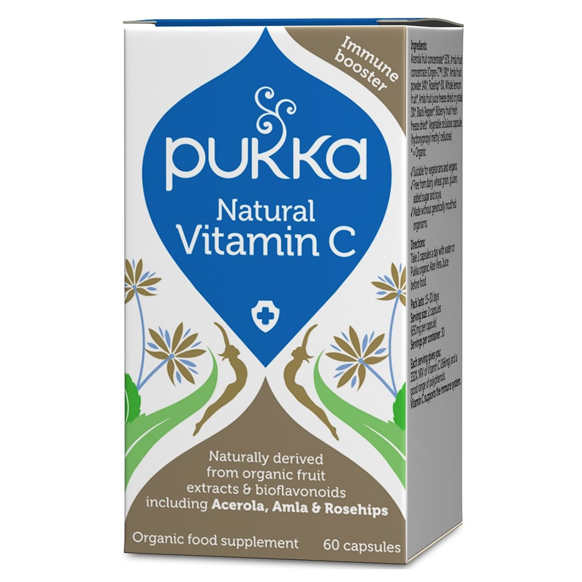 Pukka Natural Vitamin C Capsules
