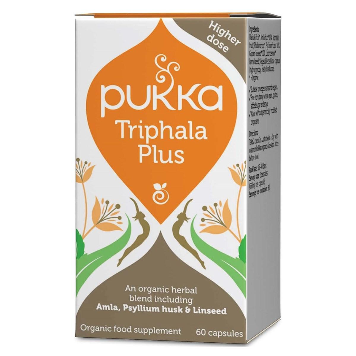 Pukka Triphala Plus Capsules