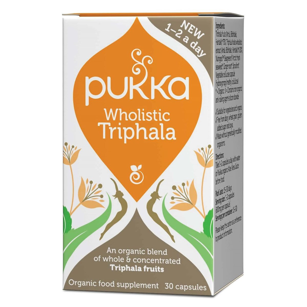 Pukka Wholistic Triphala Capsules