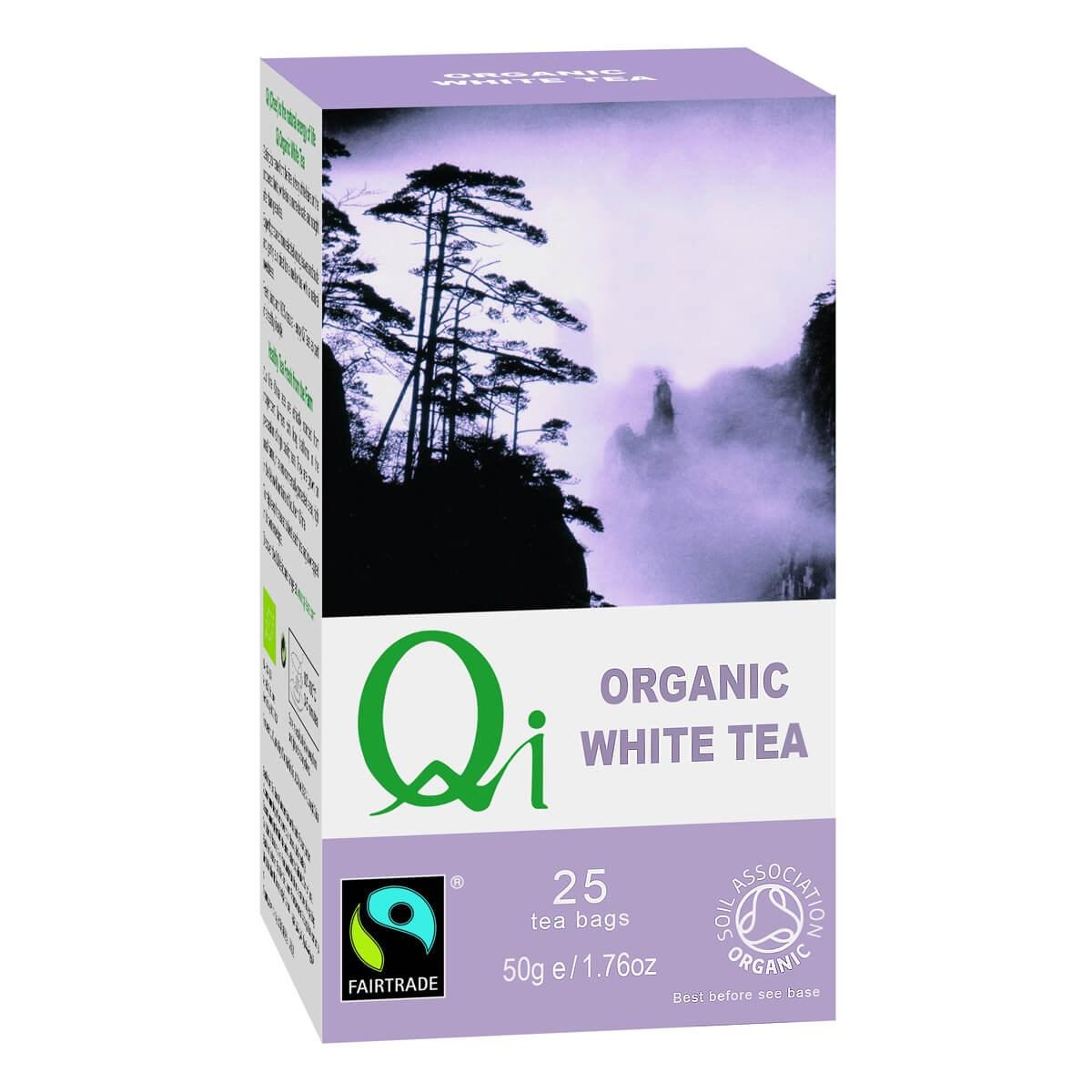 Qi Organic Fair Trade White Tea