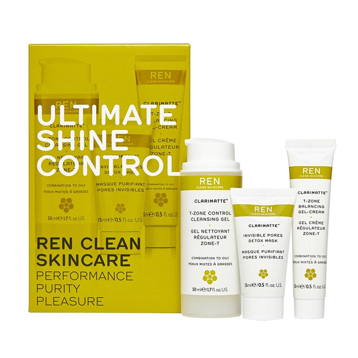 REN Ultimate Shine Control Kit