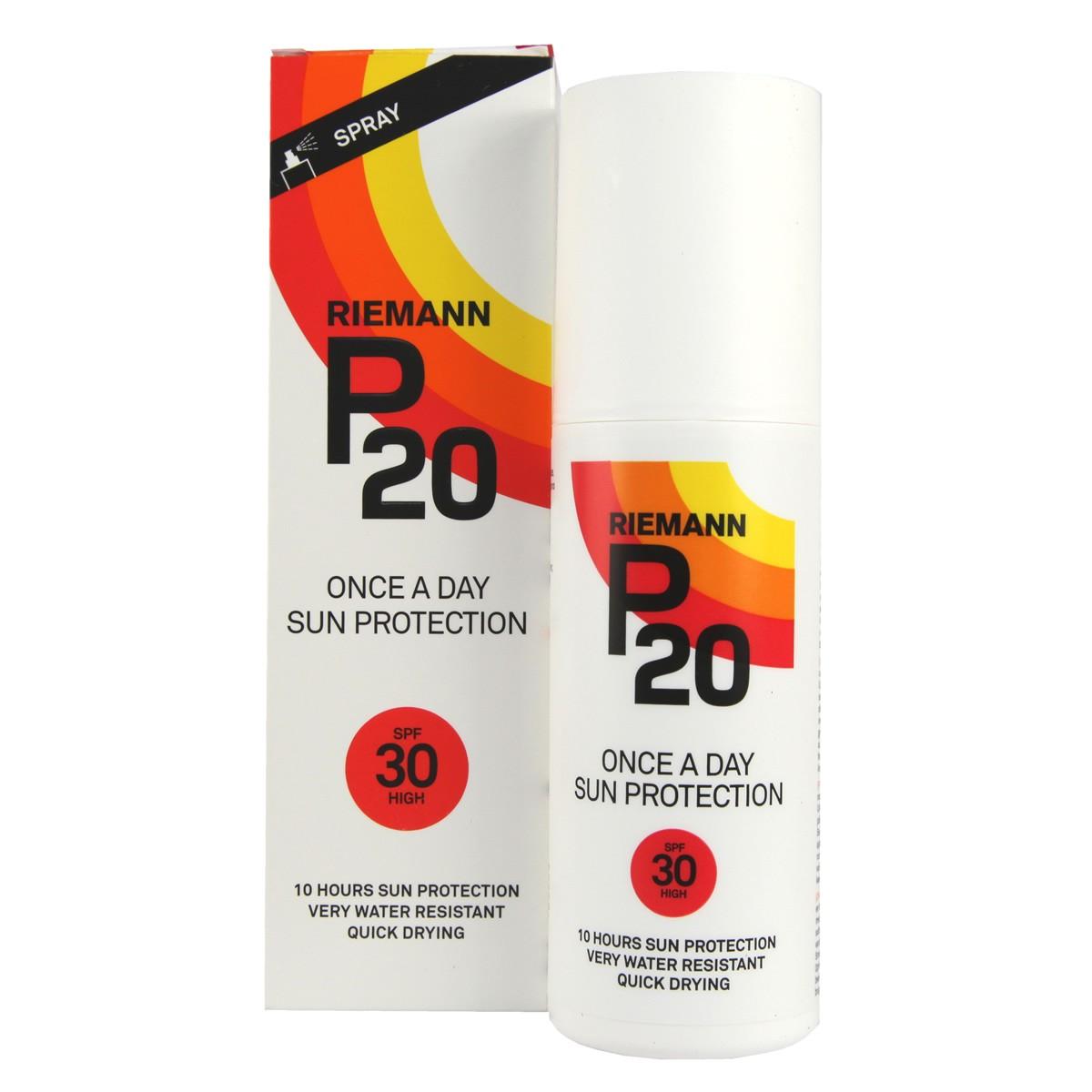 Riemann P20 Once A Day Sun Protection Spray SPF30