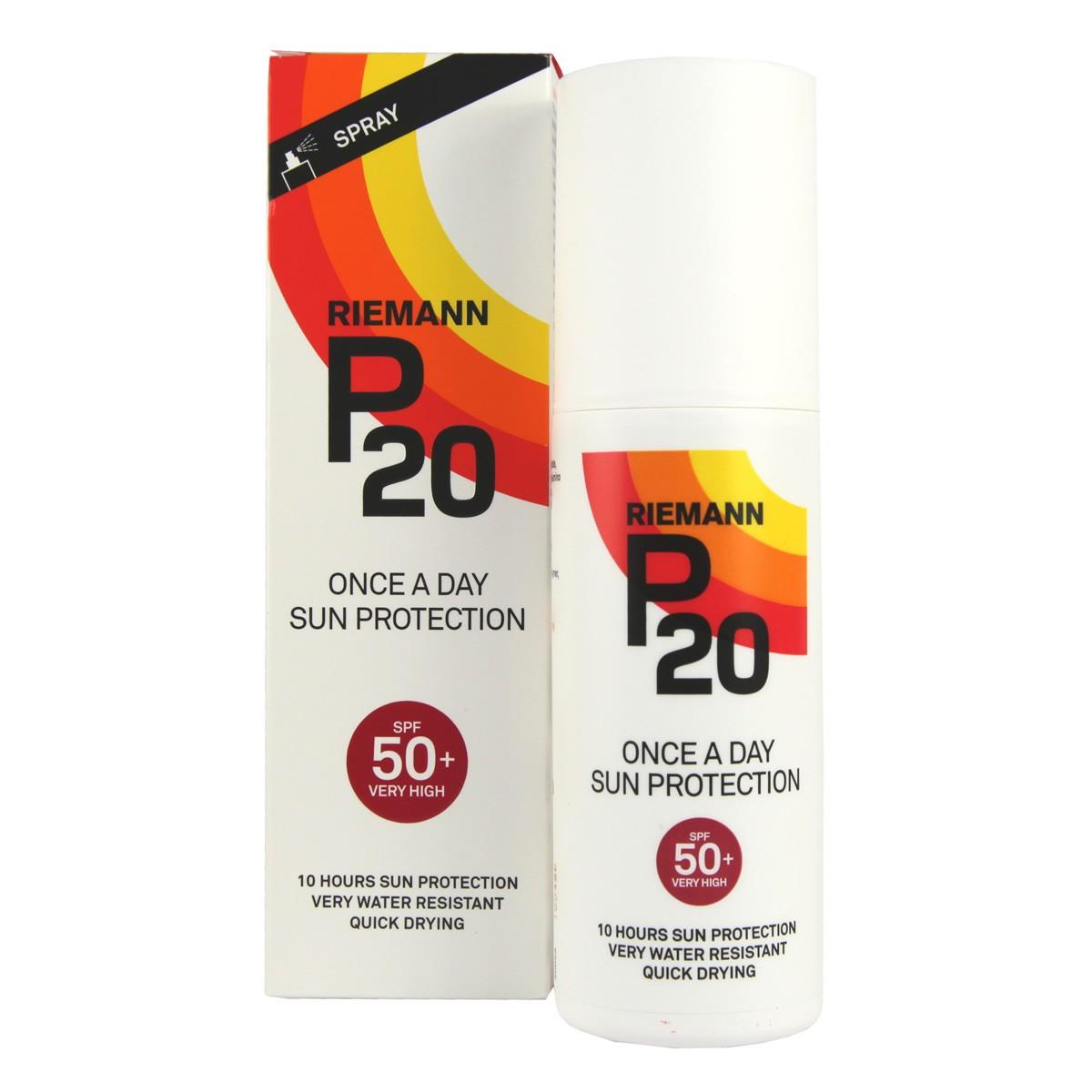 Riemann P20 Once A Day Sun Protection Spray SPF50+