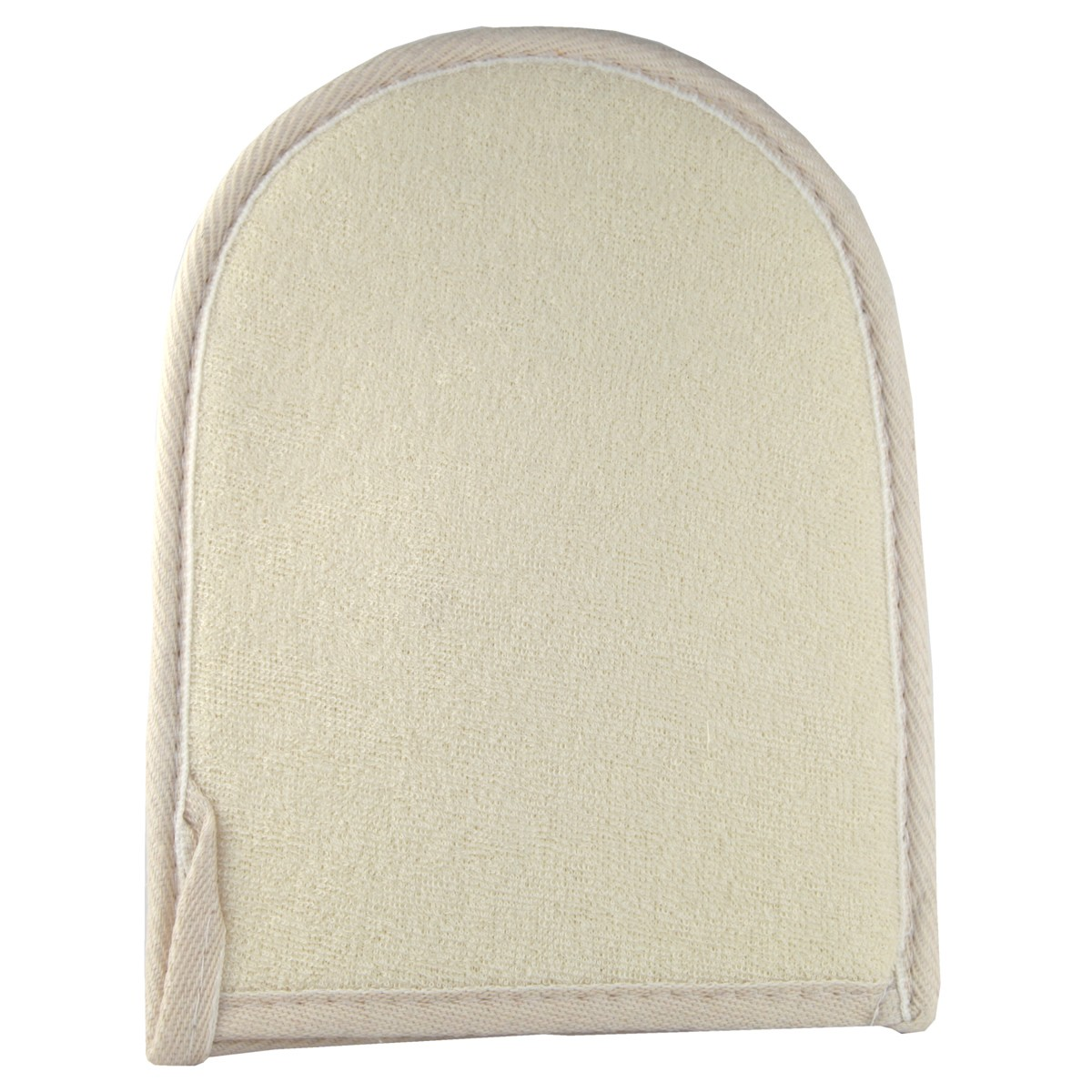 Riffi Massage Natur Body Double Sided Massage Mitt ( Loofah / Terry Cloth)