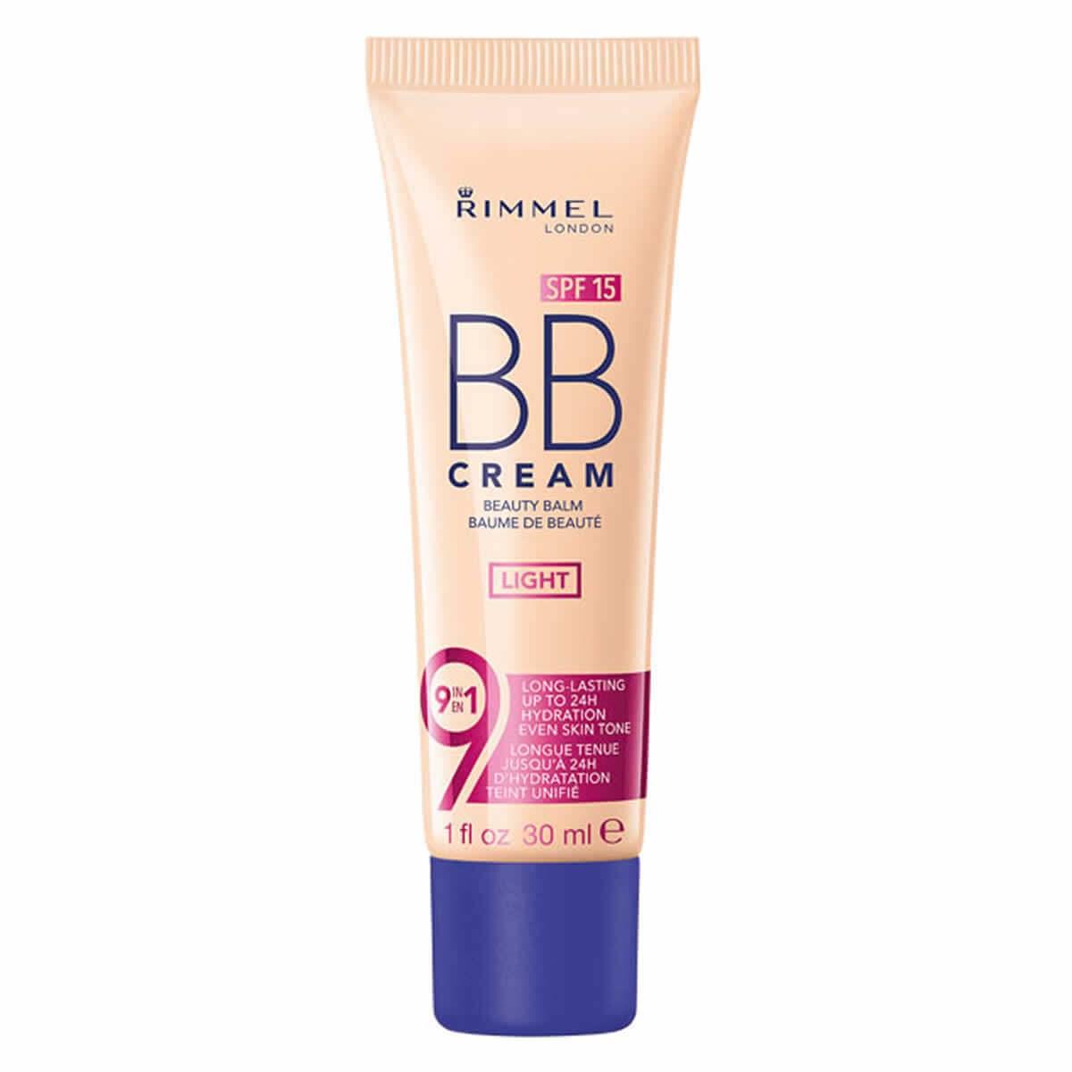Rimmel BB Cream 9-in-1 Beauty Balm SPF15