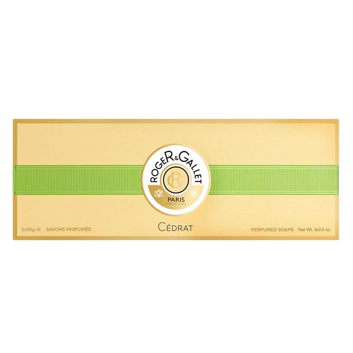 Roger & Gallet Cedrat Perfumed Soaps