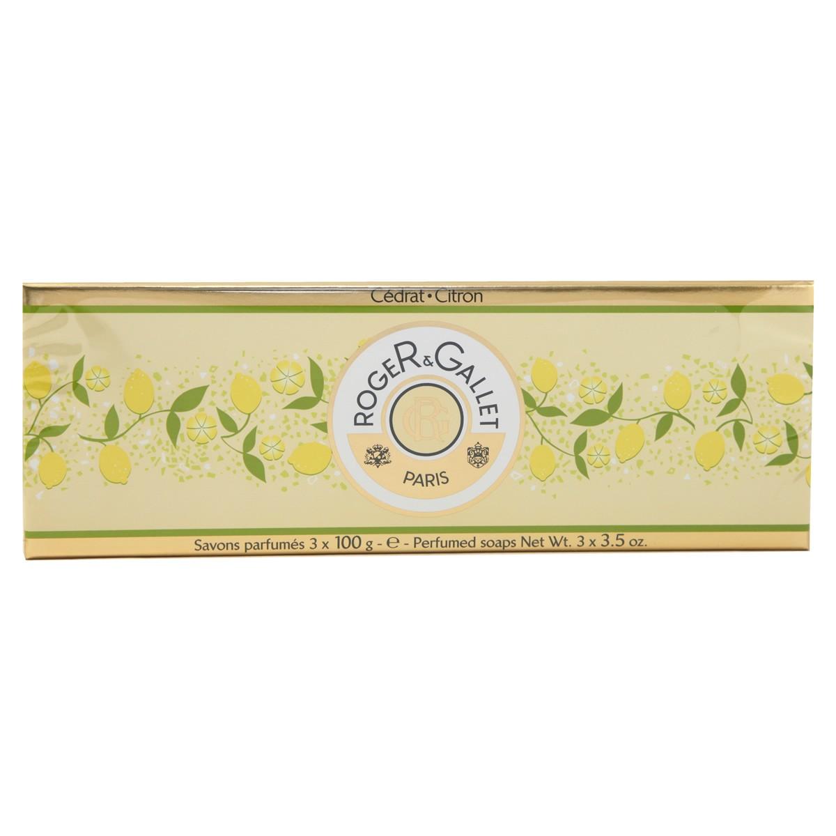 Roger & Gallet Citron Soap Coffret