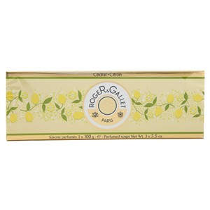 Roger & Gallet Citron Soap Coffret