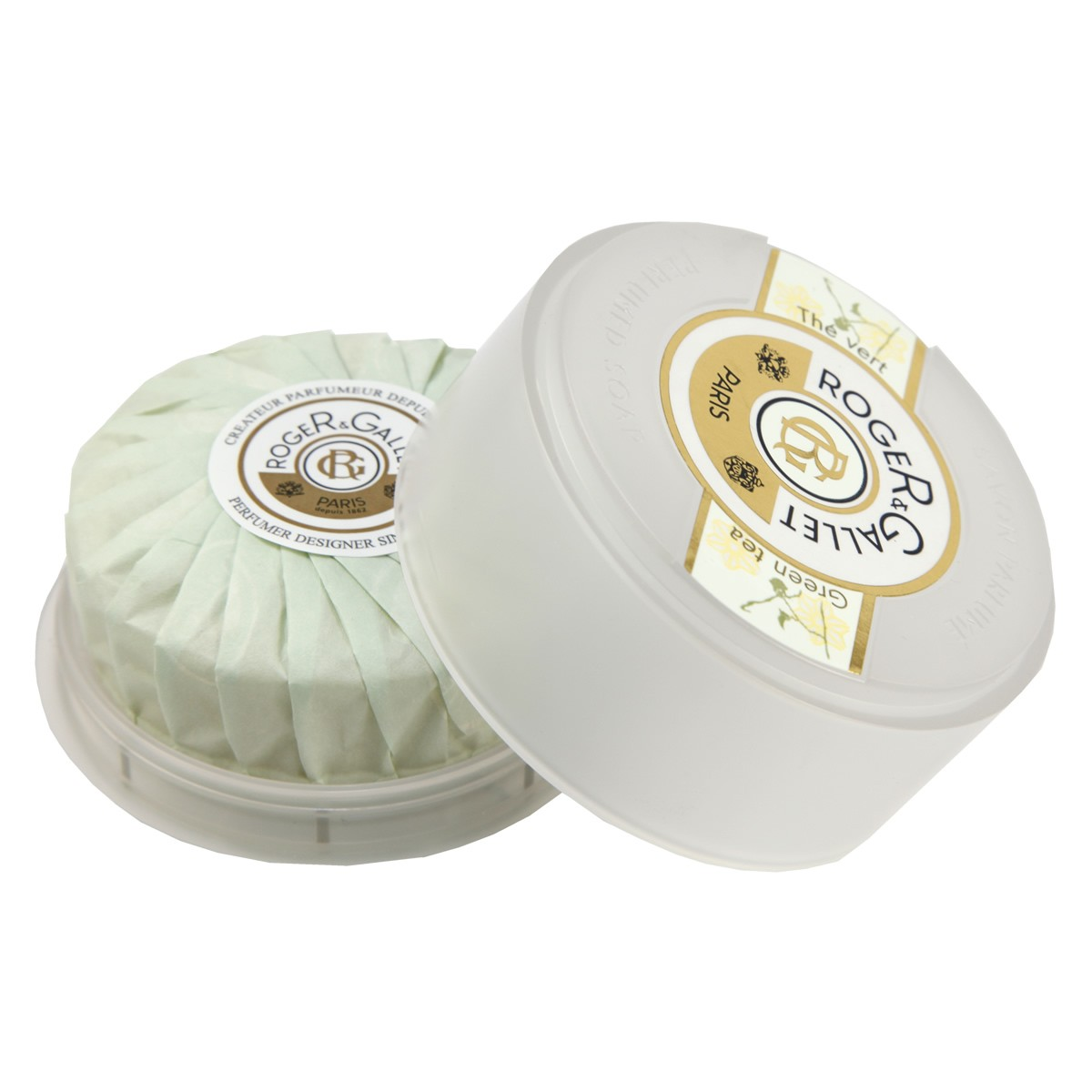 Roger & Gallet Green Tea Soap in Travel Box