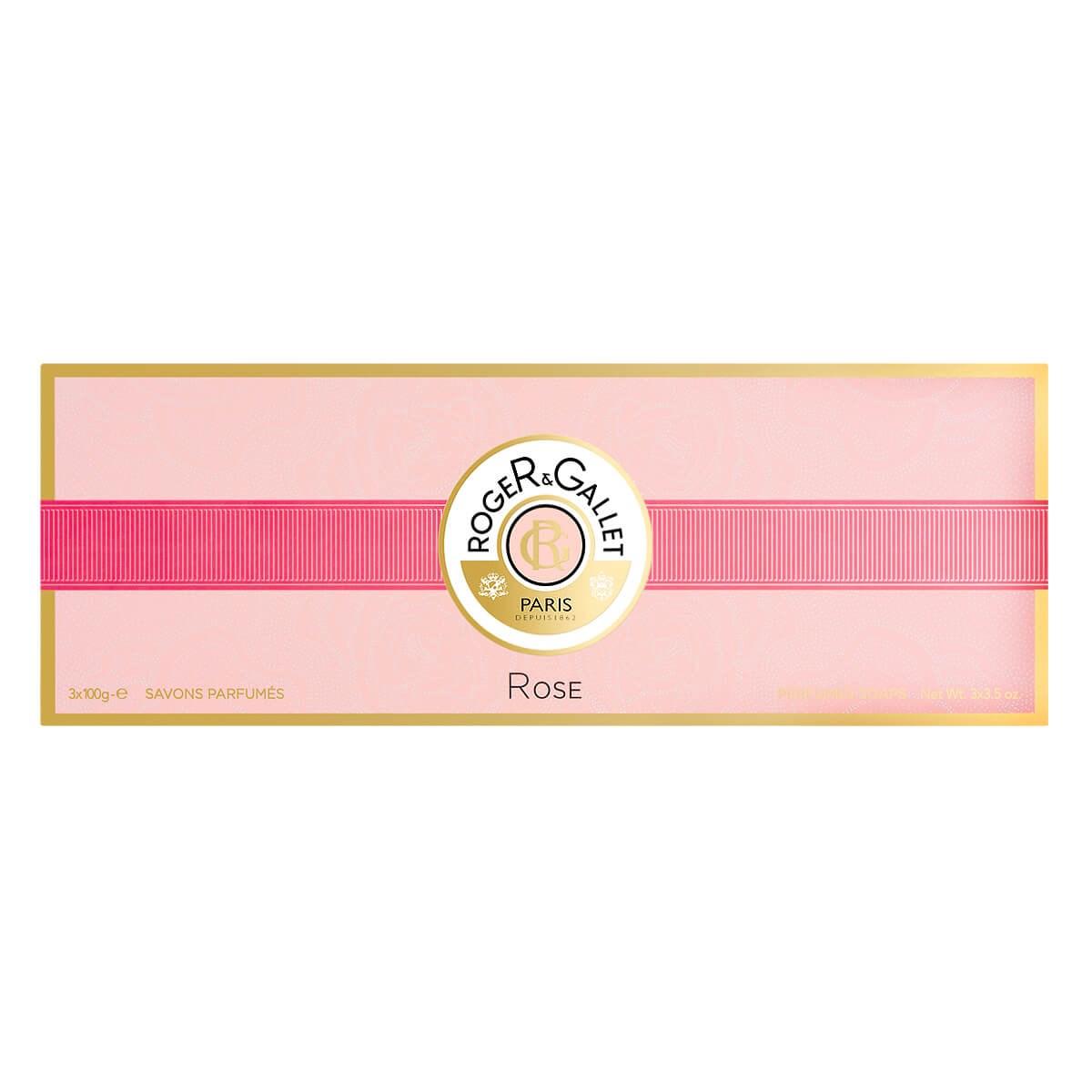 Roger & Gallet Rose Gentle Perfumed Soaps