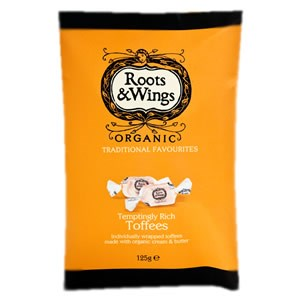 Roots & Wings Organic Sweets - Temptingly Rich Toffees