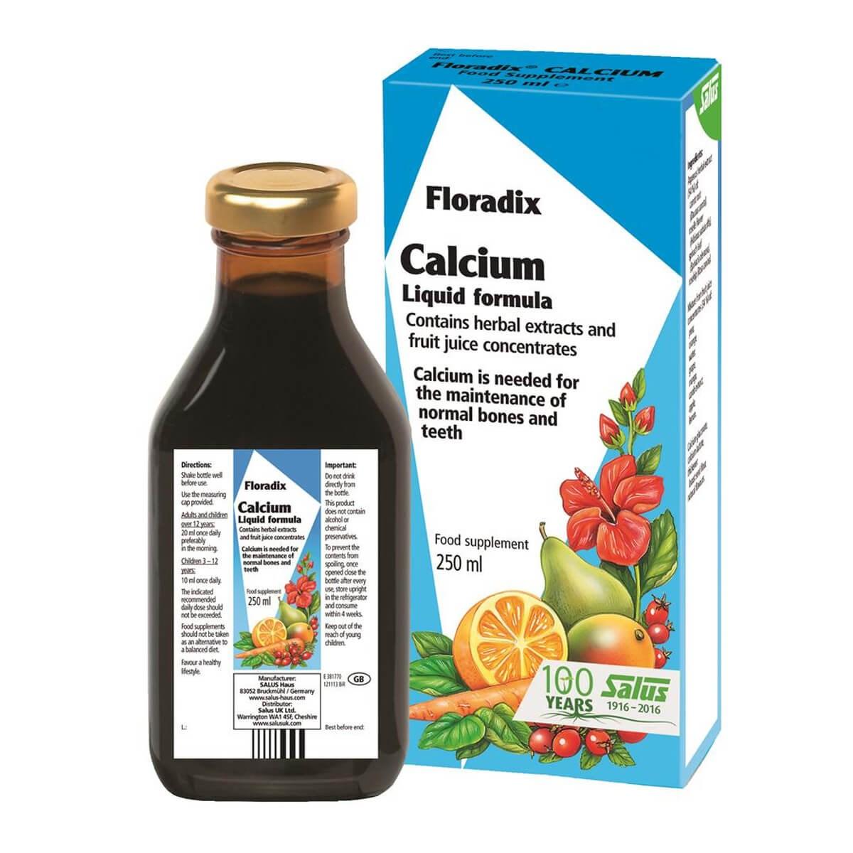Salus Floradix Calcium Liquid Mineral Supplement