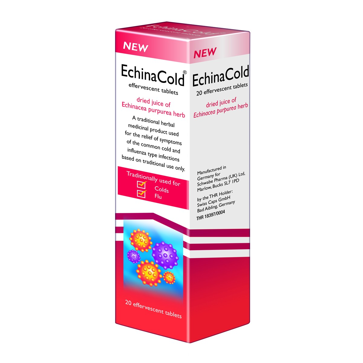 Schwabe EchinaCold Effervescent Tablets