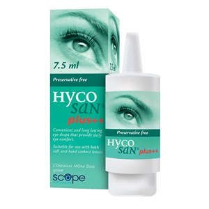 Scope Hycosane Plus++ Eye Drops