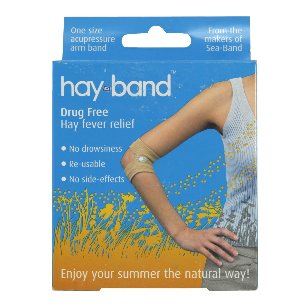 Sea Band Hay Band Drug Free Hayfever Relief