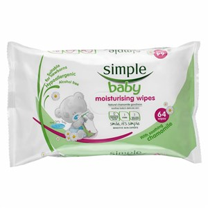 Simple Baby Moisturising Wipes